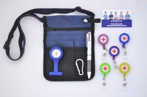 nurses pouch + fob watch + retractables