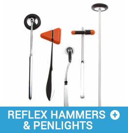 Reflex hammer set