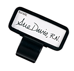 name tag stethoscope