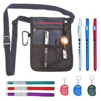 Nurses Pouch Calculator Scissor penlight tourniquet set