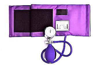 blood pressure cuff with meter