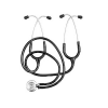 Educational stethoscope double lumen