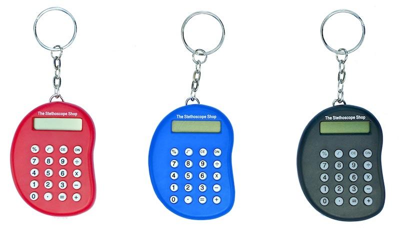 Pocket Keyring Calculator